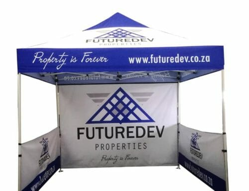 Our Branded Event Gazebos are the easiest to set up